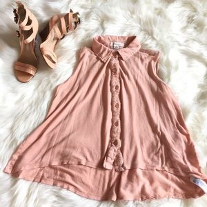 Forever 21 Peach swing top size M fits Small